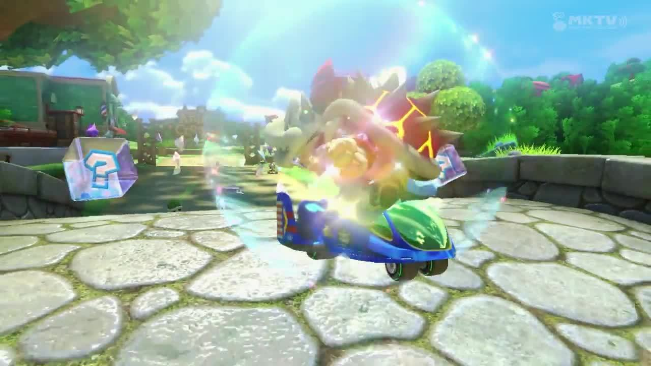 mario kart (video game series), mario kart 8, mariokart, How to Dodge a Green Shell Tutorial. GIFs