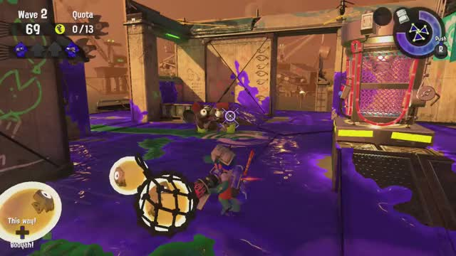 Watch and share Salmon Run GIFs and Splatoon 2 GIFs by ConclusiveSpoon on Gfycat