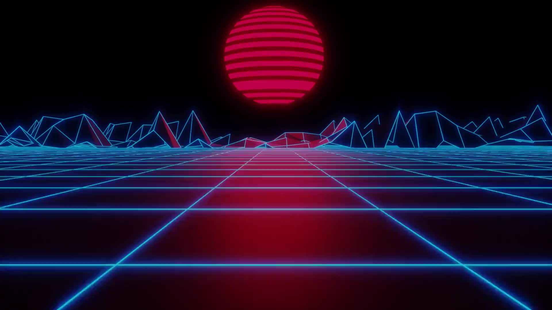 pumpyboi, outrun grid [A] GIFs