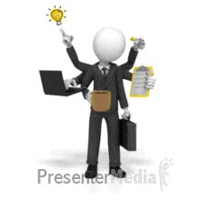 Watch and share ID# 17876 - Businessman Multi Tasking - PowerPoint Animation GIFs on Gfycat