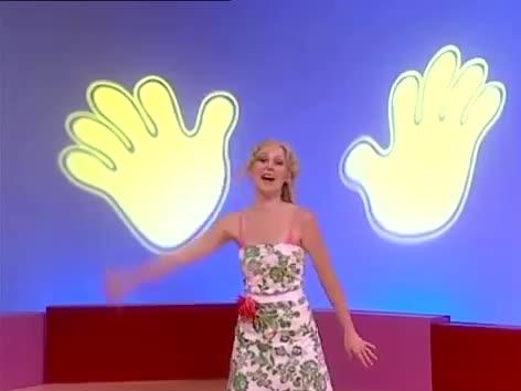 hello, hey, hi, Hi-5 Charli Waving Hello and Goodbye GIFs