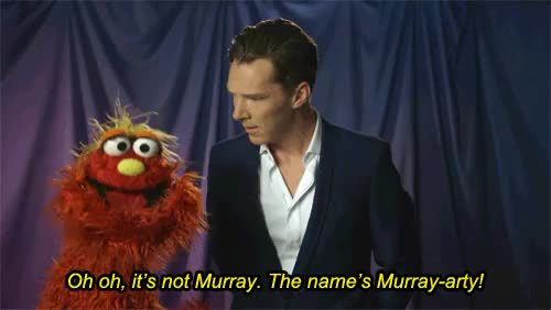 Watch and share Benedict Cumberbatch GIFs and Sesame Street GIFs on Gfycat