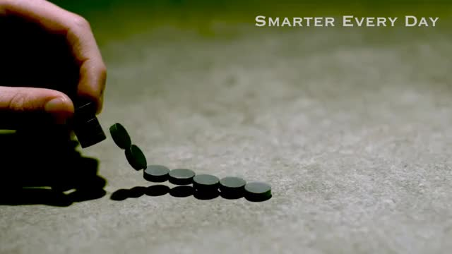 Watch Magnet Chain Reacton GIF on Gfycat. Discover more Demonstration, Experiments, Math, Physics, SCIENCE, day, destin, education, every, experiment, magnets, mind-blowing, motion, nature, polymagnet, polymagnets, projects, sandlin, slow, smarter GIFs on Gfycat