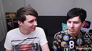 adorable boys, amazing phil, amazingphil, dan and phil, dan and phil gaming channel, dan and phil play sims 4, dan howell, dan is not on fire, danandphilgames, danisnotonfire, dil howlter, dil's first kiss, dils first kiss, phil lester, sims 4, Geek Girls GIFs