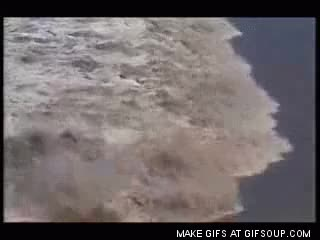 Watch and share Tsunami GIFs on Gfycat
