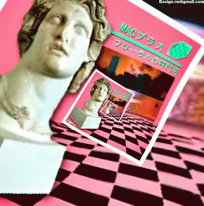 Watch Vaporwave Floralshoppe GIF on Gfycat. Discover more related GIFs on Gfycat