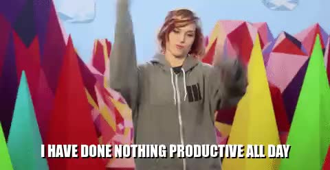 dexbonus, dodger, presshearttocontinue, Dodger - I have done nothing productive all day GIFs
