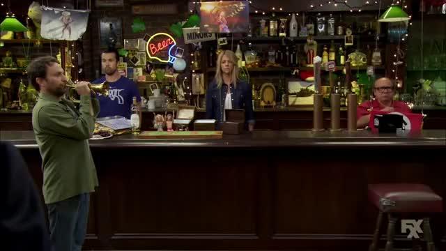 Watch It's Always Sunny in Philadelphia - Franks CharDee MacDennis Swastika Teamflag - CharDee MacDennis 2 GIF on Gfycat. Discover more danny devito, glenn howerton GIFs on Gfycat