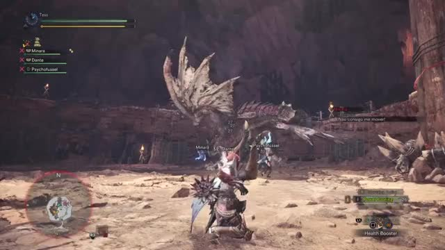Watch He's dead! ...or not. GIF by @mentolkase on Gfycat. Discover more MHW GIFs on Gfycat