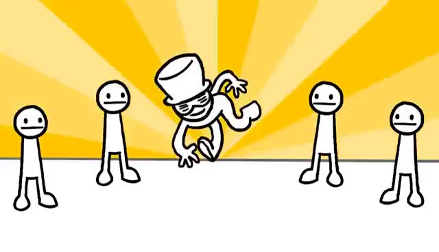Watch and share EVERYBODY DO THE FLOP (asdfmovie Song) GIFs on Gfycat