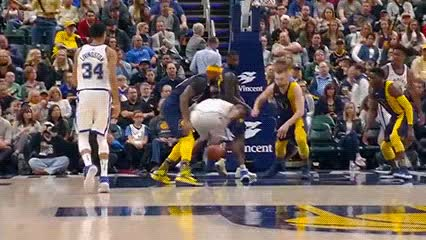 Watch Victor Oladipo — Indiana Pacers GIF by Off-Hand (@off-hand) on Gfycat. Discover more 040518 GIFs on Gfycat