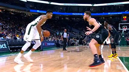 Watch Giannis Antetokounmpo — Milwaukee Bucks GIF by Off-Hand (@off-hand) on Gfycat. Discover more 120518 GIFs on Gfycat