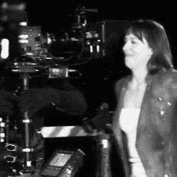 Anastasia Steele, Kamera arkası, behind the scenes, christian grey, cutiepie, dakota johnson, damie, fifty shades of grey, fsog, fsog bts, grinin elli tonu, jamie dornan, lol, lovely, mine, Jamie Dornan GIFs
