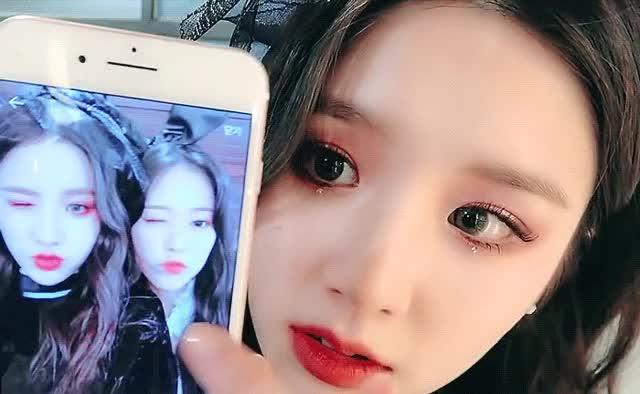 Watch and share Heejin GIFs on Gfycat