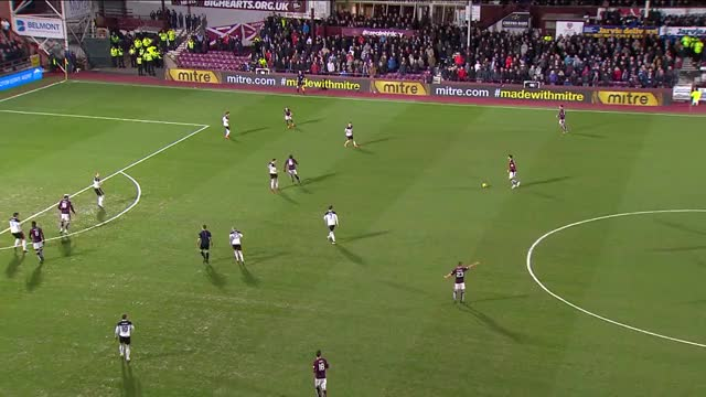 Watch Goals! Hearts hit back to gain revenge over Dons GIF on Gfycat. Discover more aberdeen, hearts, scottishfootball GIFs on Gfycat