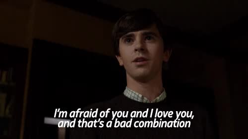Watch Im Not Afraid Of You GIF on Gfycat. Discover more freddie highmore GIFs on Gfycat