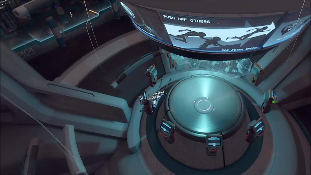 echo arena, rift, vr, Horrors of VR multiplayer GIFs