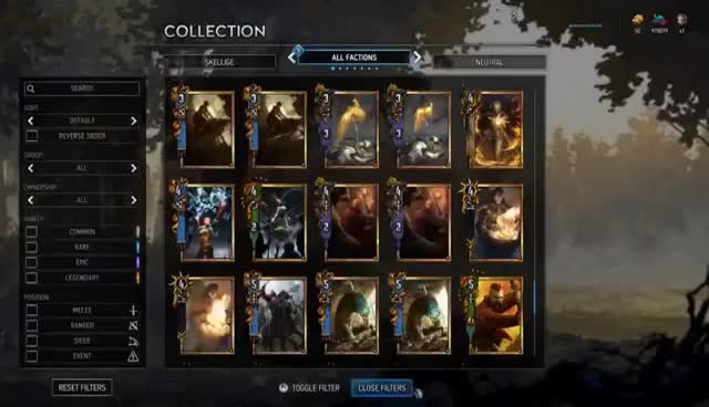 Watch and share [Gwent] NILFGAARD FULL REVEAL - All New Cards & Premium Cards! GIFs on Gfycat