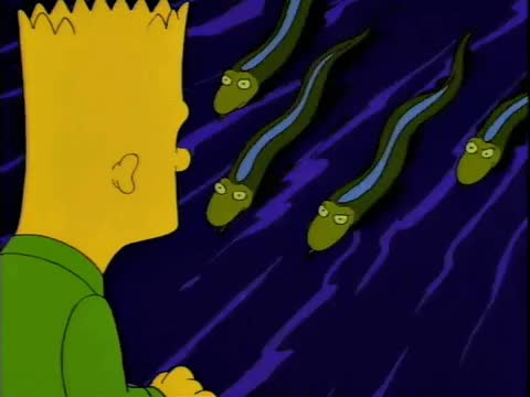 Watch and share Bart And The Alligators/eels From Cape Feare GIFs by nlawson on Gfycat
