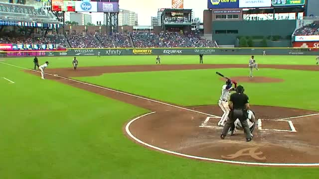 Watch and share Baseball GIFs and Braves GIFs by handlit33 on Gfycat