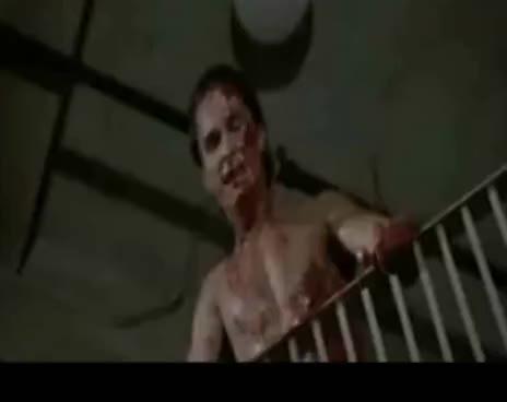 american psycho, patrick bateman, yell, Bateman yell GIFs