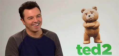 Watch and share Seth Macfarlane GIFs and Interview GIFs on Gfycat