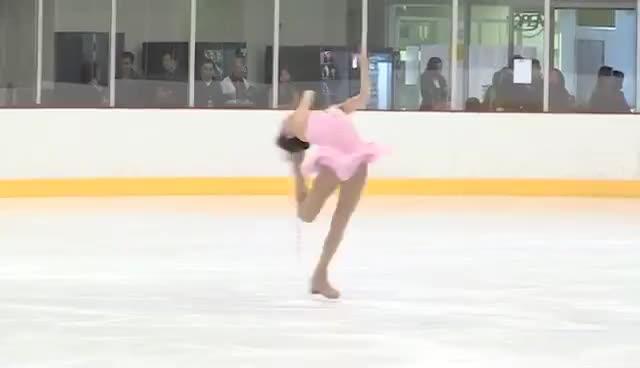 beautiful, ice skate, ice skating, sports, skating GIFs