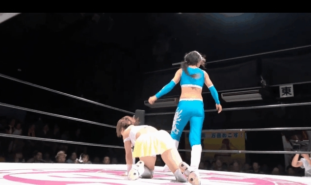 stardomjoshi, This is Sparta - Blue Nikita vs. Natsumi Maki, Shinkiba 8/21 GIFs