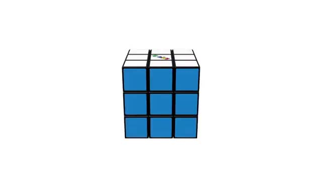 How To Solve A Rubik's Cube | OFFICIAL TUTORIAL PART 6 GIFs