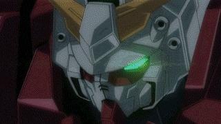 animegifs, Devil Gundam vs Jegan [Gundam Build Fighters] (reddit) GIFs