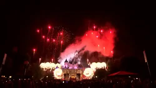 Watch and share July 4th Fireworks GIFs and Disneyland Castle GIFs on Gfycat