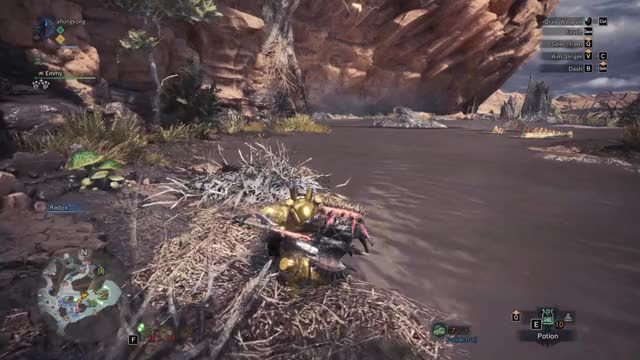 Watch and share Monster Hunter GIFs and Hammer Bro GIFs by aflongkong on Gfycat