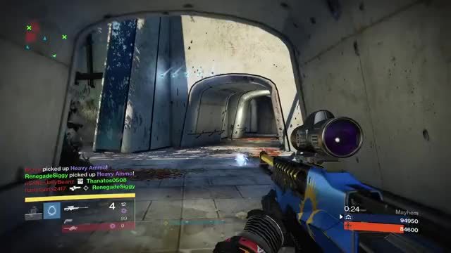 Watch and share Quack - Hitting Some Domers #destinythegame #marksman #bullseye GIFs on Gfycat