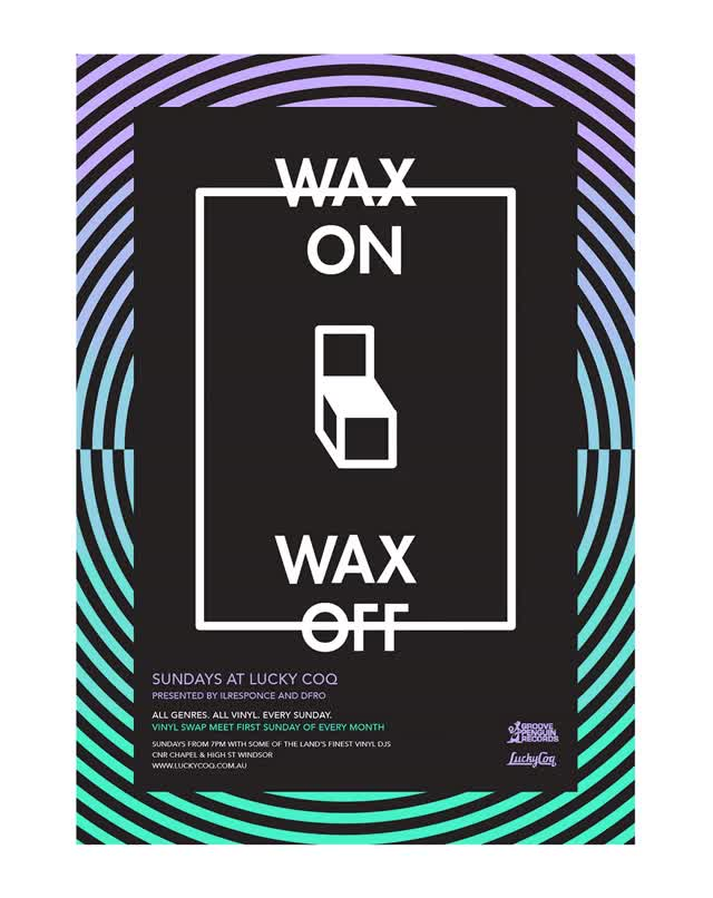 Watch and share Lucky Coq – Wax On Wax Off - Helen Pape GIFs on Gfycat