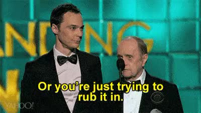 Watch Yahoo Entertainment GIF on Gfycat. Discover more bob newhart, emmys, gif, gif set, jim parsons GIFs on Gfycat