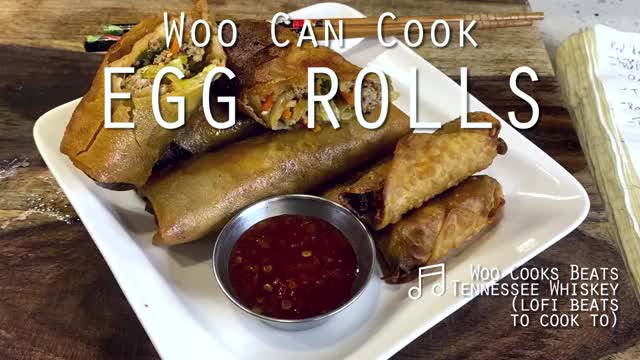 Watch and share Woo Can Cook | Egg Rolls And Lumpia GIFs by WooCanCook on Gfycat