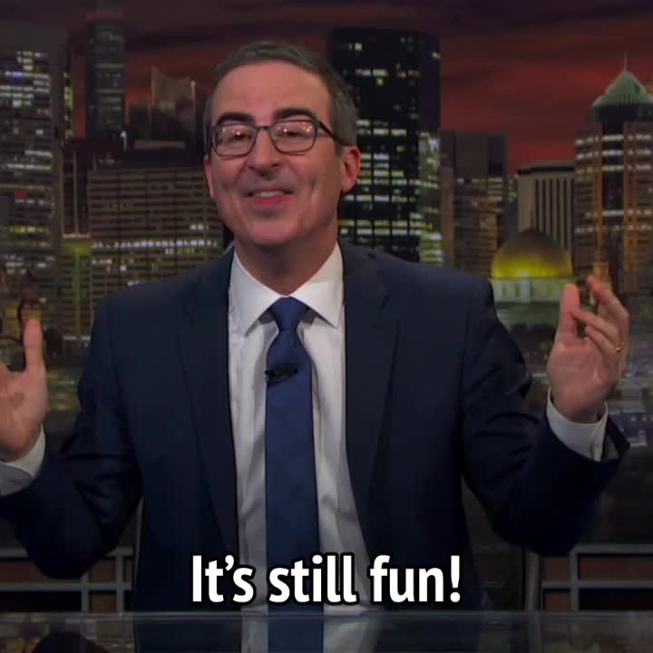 celebs, john oliver, John Oliver - You didn't see it coming and it's still fun GIFs
