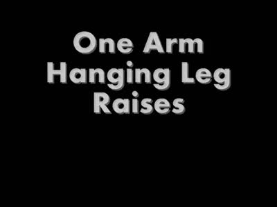Watch and share One Arm Hanging Leg Raises GIFs by floreiomovement on Gfycat