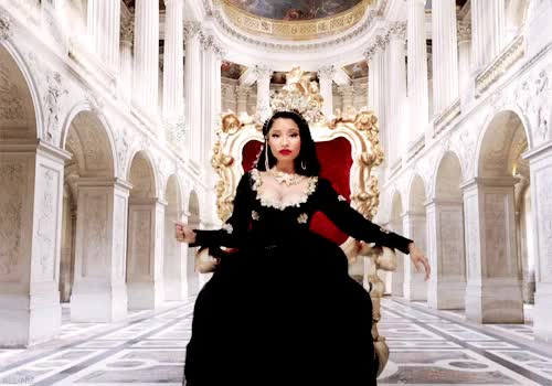 Watch and share Nicki Minaj Queen Of Rap GIFs on Gfycat