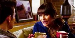 Watch this trending GIF on Gfycat. Discover more 4x11, Chris Colfer, Glee, HB, Hummelberry, Lea Michele, Mine GIFs on Gfycat
