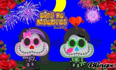 Watch and share FELIZ DIA DE MUERTOS  (Mundo Gaturro) GIFs on Gfycat