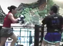 Watch and share Gina Carano GIFs and Exercise GIFs on Gfycat