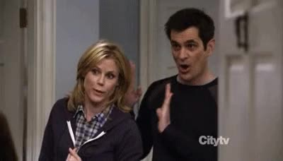 Watch caught GIF on Gfycat. Discover more Julie Bowen, Ty Burrell GIFs on Gfycat