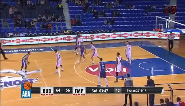 Watch Is this the best dunk of the season? Aleksa Ilić... (Budućnost VOLI - FMP, 25.2.2017) GIF on Gfycat. Discover more related GIFs on Gfycat