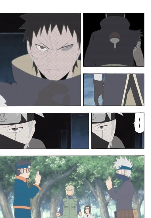 irishsaltytuna, naruto, [OC] Anime-manga comparison gifs: Kakashi vs Obito full fight. (Spoilers for Naruto Shippuden Episode 375) (reddit) GIFs