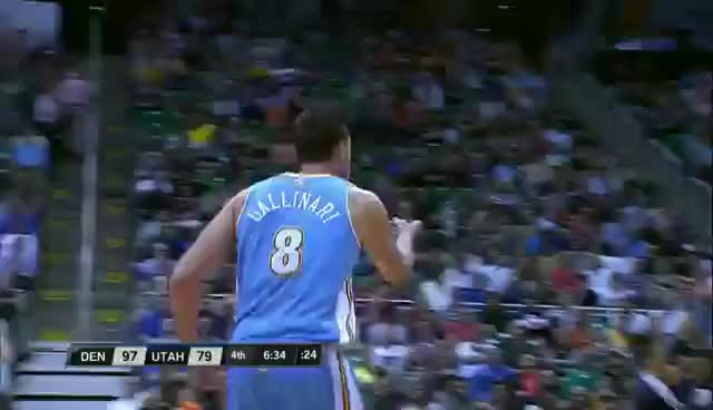 Watch Gallinari cele GIF on Gfycat. Discover more related GIFs on Gfycat