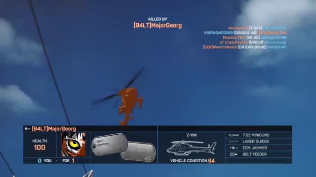 Watch and share Battlefield 4 - Bad Spawn!!! GIFs by hotchilidamo on Gfycat