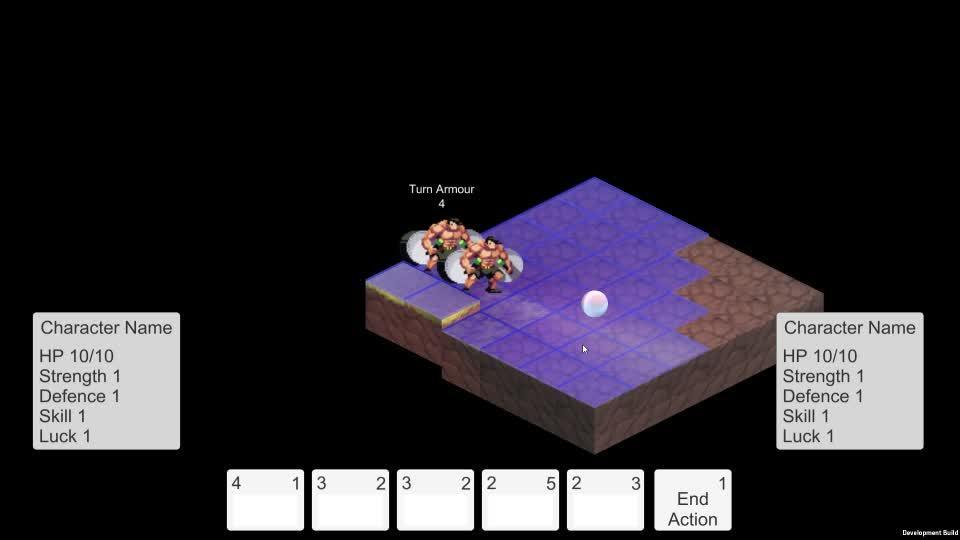 Gamedevscreens, First Combat Test GIFs