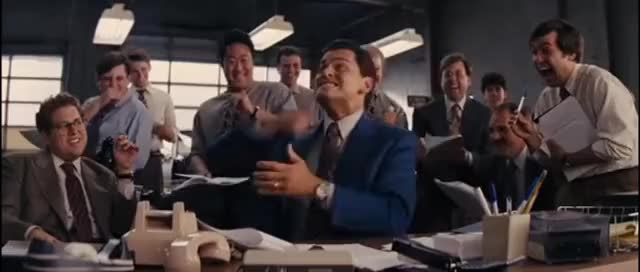 Watch and share The Wolf Of Wall Street - Hilarious Phone Sales Scene GIFs on Gfycat