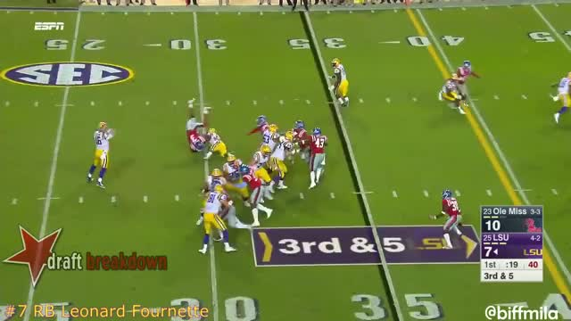 Watch and share Leonard Fournette (truck) GIFs by Sean McKaveney on Gfycat